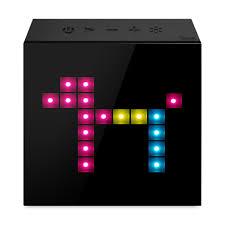 aurabox clock speaker moma design store