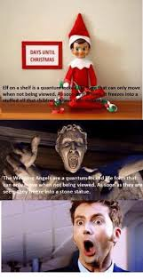 Elf Movie Meme - days until christmas elf on a shelf is a quantum loc that can only