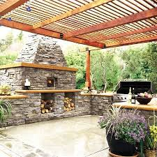 Outdoor Kitchen Designs With Pizza Oven by 25 Best Outstanding Outdoor Kitchens Images On Pinterest Outdoor