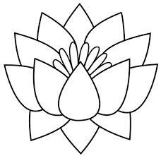 drawing of a flower clip art library