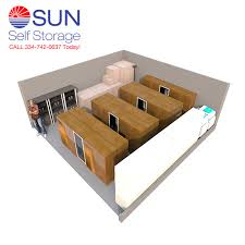 double car garage size sun self storage