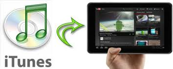 transfer itunes to android itunes to android tablet convert sync itunes songs to