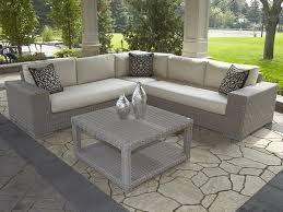 Insideout Patio Lotus 3pc Sectional Driftwood Insideout Patio Furniture