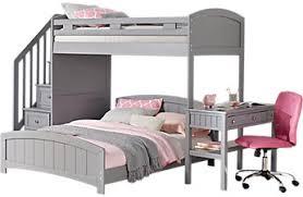 bunk beds for girls with desk girls bunk beds loft beds with desks slides storage