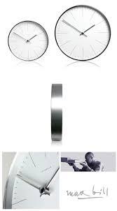 Modern Wall Clocks Max Bill Modern Modern White 8 7 11 8 Inch Office Wall Clock With