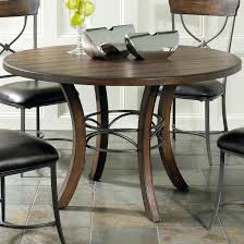 dining table furniture dark round dining table leaf wood bases