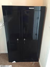 stack on 10 gun double door cabinet armslist for sale trade stack on gcdb 924 10 gun double door