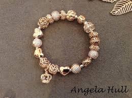 pandora charm bracelet clip images Pandora gold clip bracelet jpg