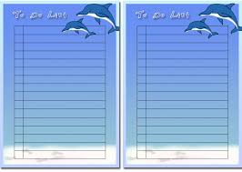 free children u0027s to do list printables 1 download free to do list