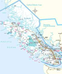 Map Of Vancouver Canada Travel Planning To Vancouver Island British Columbia Canada