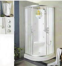 Corner Shower Units For Small Bathrooms Corner Shower Stalls For Small Bathrooms Ibbc Club Pertaining To