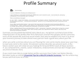 expose your self by making your professional profile