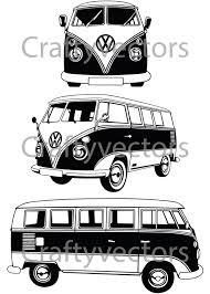 volkswagen van clipart vw camper van vector