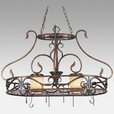 lighted hanging pot racks kitchen kitchen pot rack with light designing a kitchen with a hanging