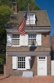 American House Flag Betsy Ross House Philadelphia Pa American Revolution Flags And