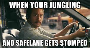 Taxi Driver Meme - when your jungling and safelane gets stomped zohan taxi driver