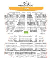 Theater Floor Plan Seating Chart