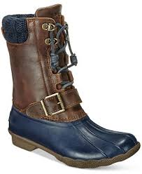 womens boots at macys sperry s saltwater duck boots boots shoes macy s