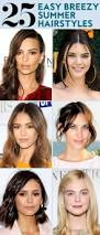 25 easy hairstyles to wear for summer instyle com