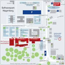 Und Campus Map Campus Map Hagenberg Campus Fh Ooe