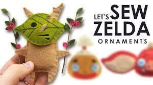 let s sew botw plush ornaments