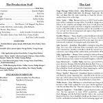 theatre program template free download it resume cover letter