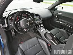 first audi r8 audi r8 v10 plus european car magazine