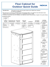 flexi cabinet for outdoor quick guide trademark
