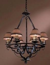 Log Cabin Lighting Fixtures Revival Chandelier Design Ideas Pinterest
