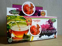 Teh Detox teh detox ginjal darusyifa arriqza herbal