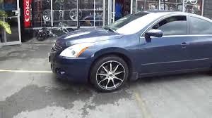 2003 nissan altima custom hillyard wheels 2010 nissan altima 18 custom tuner rims youtube