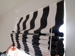 Roman Shades Black Out And Sheer Decorating Furniture Ultimate Waterfall Roman Shade Under Cornice