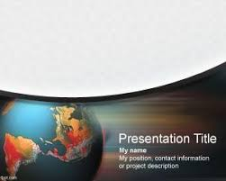 theme powerpoint 2007 economy geography powerpoint templates