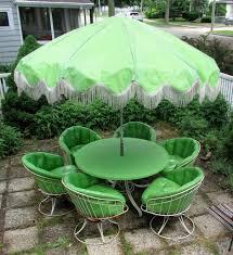 Vintage Homecrest Patio Furniture - fiberglass patio furniture