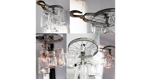 How To Make Mason Jar Chandelier How To Make A Mason Jar Chandelier Popsugar Home