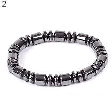 bracelet health magnetic images Low priced wintefei biomagnetic multi shaped black hematite stone jpg
