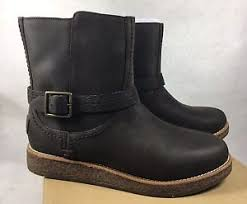 s ugg australia mini leather boots ugg australia camren demi water resistant leather ankle mini boots