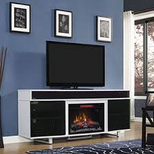 White Fireplace Entertainment Center by Electric Fireplaces Classic Flame Electric Fireplaces