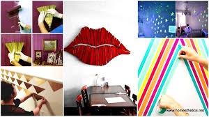 Cool Diy Wall Art by 25 Cool No Money Decorating Projects That Will Beautify Your