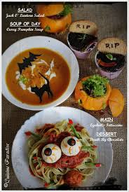 halloween special jack o u0027 lantern black cat pumpkin soup
