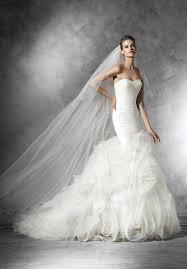 pronovias mildred wedding dress the knot