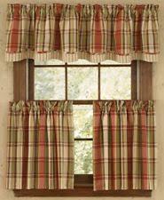 Country Plaid Valances Plaid Curtains Drapes U0026 Valances Ebay