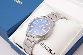 sapphire crystal bracelet images Fs seiko snk mod yobokies orange hand blue dial sapphire jpg