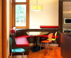 Red Kitchen Table And Chairs Dining Table With Bench Seating U2013 Mitventures Co