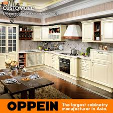 professionnel cuisine professionnel moderne pvc fini armoire de cuisine design idées op15