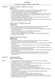 marketing manager resume exles product marketing manager resume sles velvet