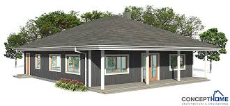Inexpensive To Build House Plans Small House Plan To Tiny Lot With Two Bedrooms And Covered Terrace