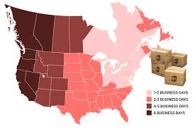 Ups Ground Shipping Map Shipping Nanuk Cases In Canada And Usa Hardcases Ca