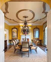 denver tuscan dining room mediterranean with transitional nickel