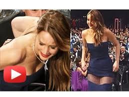 photos celebrity wardrobe malfunctions abc news jennifer lawrence wardrobe malfunction at sag awards hd youtube
